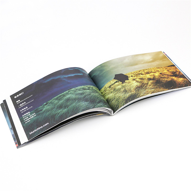 coated paper brochure specifications printing