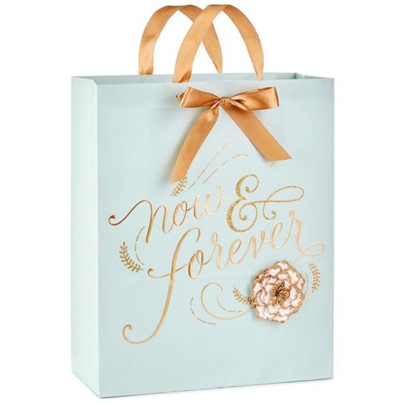 2020 Hot Sale White Paper handmade Shopping Bag