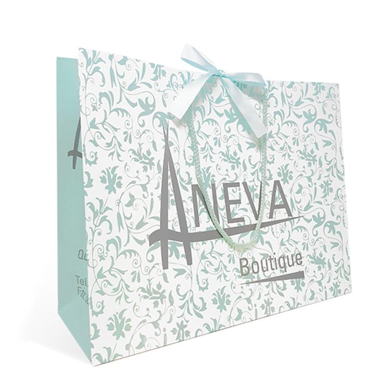 Custom Luxury Christmas Packaging Paper Gift Bags