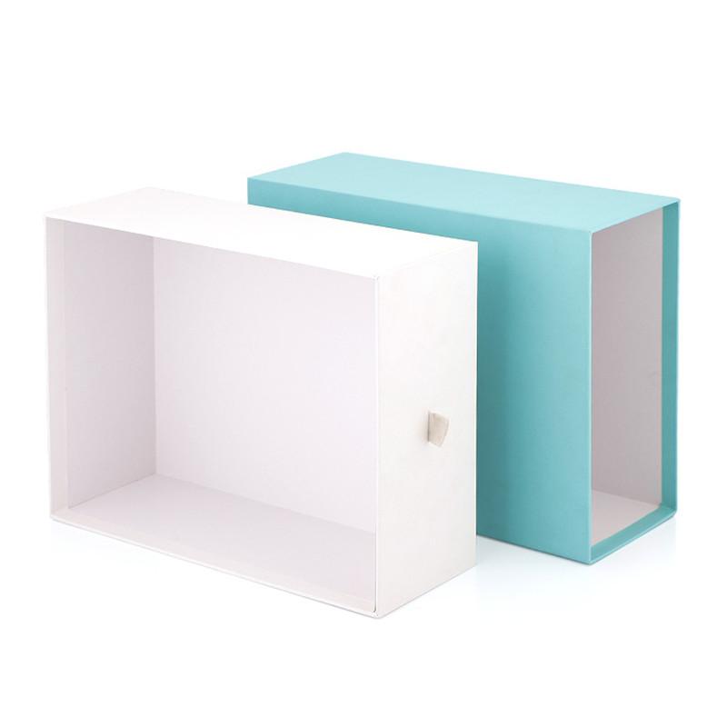 custom printed rigid board color drawer box